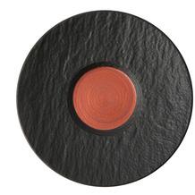 Villeroy & Boch Manufacture Rock Glow Kaffeeuntertasse kupfer,schwarz
