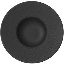 Villeroy & Boch Manufacture Rock Pastateller schwarz,grau