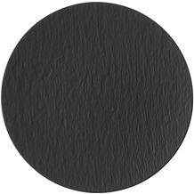 Villeroy & Boch Manufacture Rock Pizzateller schwarz,grau
