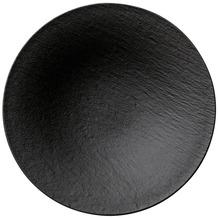 Villeroy & Boch Manufacture Rock Schale tief schwarz,grau