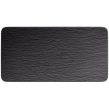 Villeroy & Boch Manufacture Rock Servierplatte rechteckig schwarz,grau