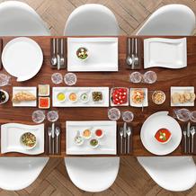Villeroy & Boch NewWave Gourmet Set 4-teilig (EC) weiß