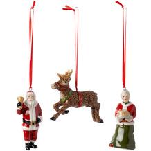 Villeroy & Boch Nostalgic Ornaments Ornamente North Pole Express Set 3tlg.