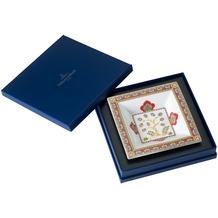 Villeroy & Boch Samarkand Accessories Schale  Quadrat rot