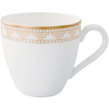 Villeroy & Boch Samarkand Mokka-/Espressoobertasse gold,weiß