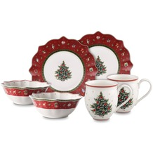 Villeroy & Boch Toy's Delight Breakfast for 2 rot, Set 6tlg. rot