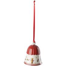 Villeroy & Boch Toy's Delight Decoration Glocke rot,weiß,gold
