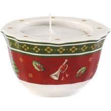 Villeroy & Boch Toy's Delight Teelichthalter rot weiß,rot