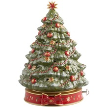 Villeroy & Boch Toy's Delight Weihnachtsbaum mit Spieluhr grün