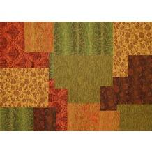 Kelii Patchwork-Teppich Alaska multi 60 cm x 90 cm