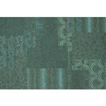 Kelii Patchwork-Teppich Alaska petrol 60 cm x 90 cm