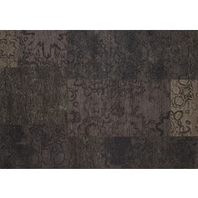 Kelii Patchwork-Teppich Colorado black 60 cm x 90 cm