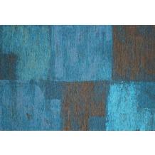 Kelii Vintage-Teppich Ontario blau 60 cm x 90 cm