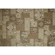 Kelii Patchwork-Teppich Patagonia beige 60 cm x 90 cm