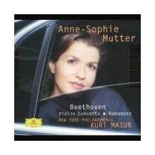 Beethoven Violin Concerto / Romances. Klassik-CD