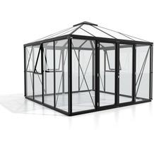 vitavia Fortuna Einscheibenglas/Hohlkammerplatte, schwarz