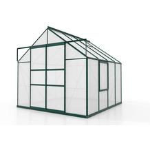 vitavia Gewächshaus Meridian 2 Hohlkammerplatte 4mm, smaragd 6,7 m²