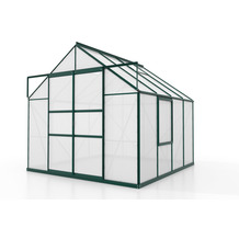vitavia Gewächshaus Meridian 2 Hohlkammerplatte 6mm, smaragd 6,7 m²