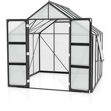 vitavia Gewächshaus Olymp Hohlkammerplatte 6mm, schwarz 6,7 m²