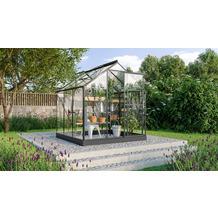vitavia Gewächshaus Triton Einscheibenglas 3mm, anthrazit 3,8 m²