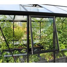 vitavia Gewächshauszubehör Seitenfenster Z o. Glas, schwarz