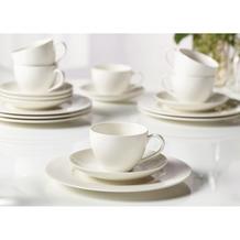 vivo Basic White Kaffee Set 18tlg. weiß für 6 Personen