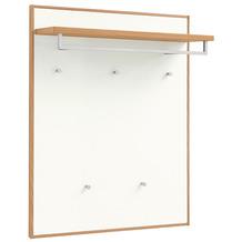 Voss Möbel Garderobenpaneel V 100 Eiche weiß, breit
