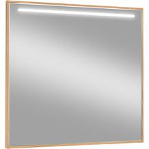 Voss Möbel Spiegel LED V 100 Eiche Breite: 84 cm
