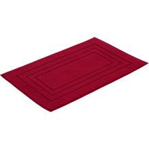 Vossen Badeteppich Feeling rubin 60 x 60 cm