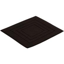 Vossen Badeteppich Feeling schwarz 60 x 60 cm