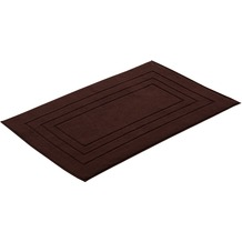 "Vossen Badeteppich ""Vossen Feeling"" dark brown 60 x 60 cm"