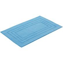 "Vossen Badeteppich ""Vossen Feeling"" paradise blue 60 x 100 cm"