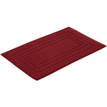 Vossen Badeteppich Feeling red rock 60 x 60 cm