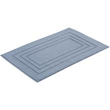 """Vossen Badeteppich """"Vossen Feeling """" smoke blue 60 x 60 cm"""