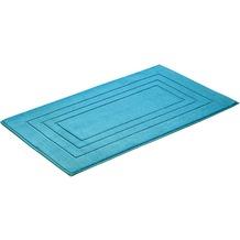 Vossen Badeteppich Feeling turquoise 60 x 60 cm
