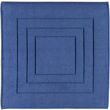 Vossen Badteppiche Feeling blau 60x60 cm