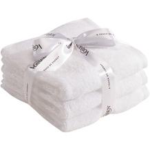 Vossen Frottierserie-Set Smart Towel weiß 2x Duschtuch à 67x140 cm