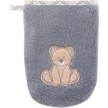 """Vossen Kinderwaschhandschuh """"Teddy Waschhandschuh"""" smoke blue one size"""