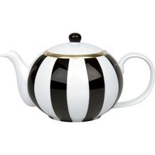 Waechtersbach Kanne mit Deckel black&white stripes 900 ml