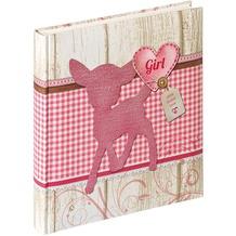 Walther Design Babyalbum Dinky Girl, 28X30,5 cm, rosa