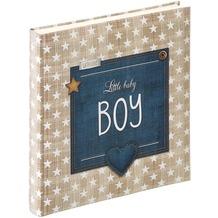 Walther Design Babyalbum Little Baby Boy, 28X30,5 cm, braun