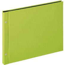 Walther Design Buchschraubenalbum Lino, hellgrün, 39X31 cm