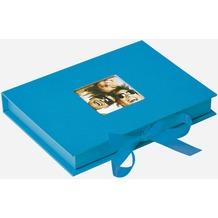 Walther Design Foto-Geschenkbox Fun, oceanblau, für Fotos bis Format 13X18 cm