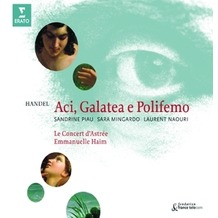 Warner Music Aci,Galatea & Polifemo, CD