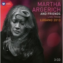 Warner Music Argerich & Friends Live From Lugano 2013, CD