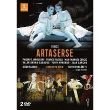 Warner Music Artaserse, DVD
