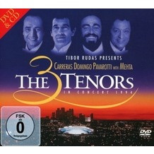 Warner Music The 3 Tenors In Concert 1994, CD