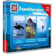 """WAS IST WAS 3-CD-Hörspielbox """"Expedition"""" Hörspiel"""