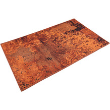 Wecon home Badteppich Room 9 WH-1024-02 rost rot 60x100