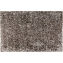Wecon home Hochflor-Teppich Shiny Touch WH-1411-095 grau 80x150